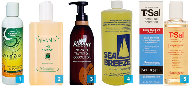 13 best shampoos for acne treatment: 1-5