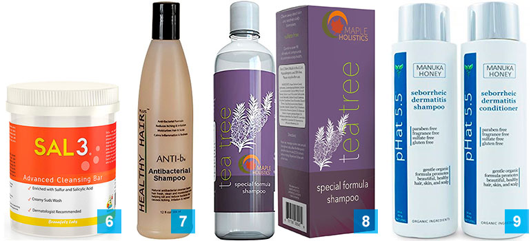 13 best shampoos for acne treatment: 6-9