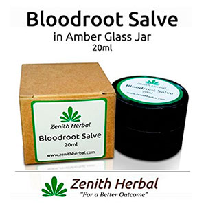 Zenith Herbal Bloodroot Skin Salve