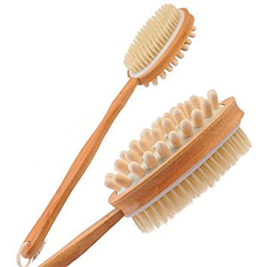 BrusyBrush Bath Dry Brush Scrubber