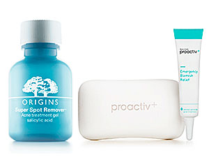 Origins Super Spot Removal Acne Treatment Gel and Proactive Spot Fix Duo