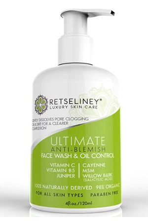 Retseliney Acne Face Wash and Blemish Treatment