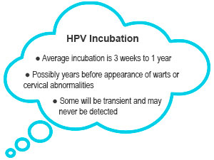 HPV Incubation