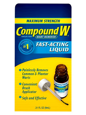 Compound W fast acting liquid