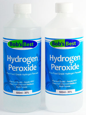 Does using hydrogen peroxide for warts work?