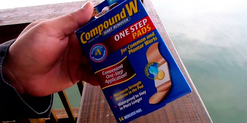 Compound W One Step PADS wart remover