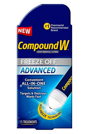 Compound W Freeze Off Advanced