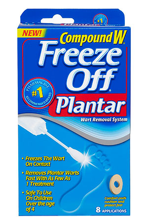 Compound W Freeze Off Plantar