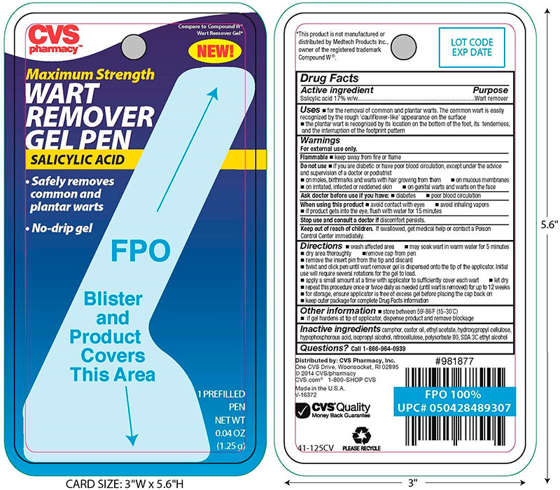 Wart remover Gel Pen Instruction