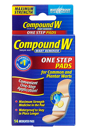 Compound W One Step PADS