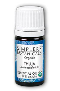 Simplers Botanicals Thuja Oil