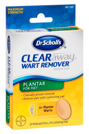 Dr.Scholls Clear Away Wart Remover PLANTAR for feet
