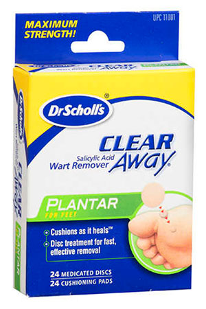 Dr.Scholls Clear Away for Plantar warts