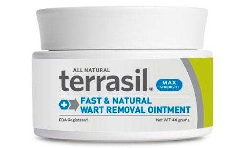 Terrasil wart removal ointment