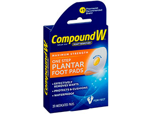 Compound W Plantar foot pads
