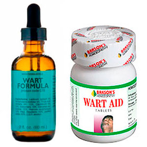 Wart formula and Wart Aid for oral warts treatment