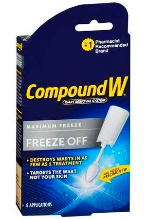Compound W Wart Removal Freeze Off