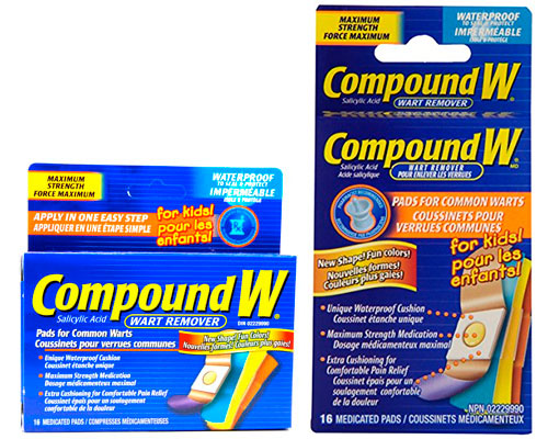 Wart removal for kids by Compound W