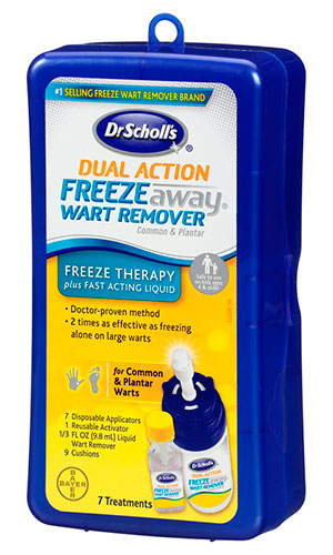 Dual Action Freeze away Wart Remover by Dr.Scholl's