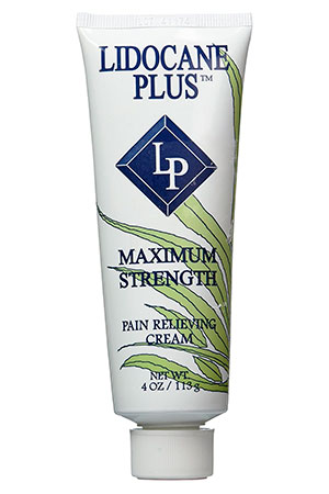 Pain relieving cream by Lidocane Plus