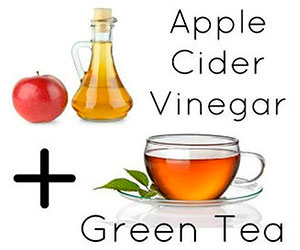 ACV and green tea