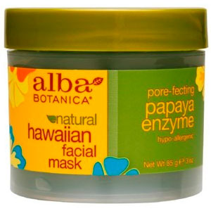 Natural hawaiian facial mask by alba botanica