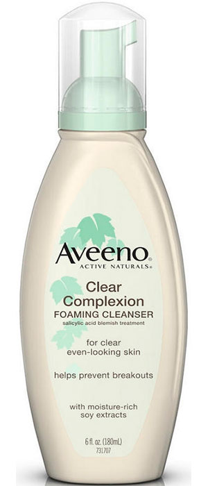 Clear Complexion Foaming Cleanser by Aveeno