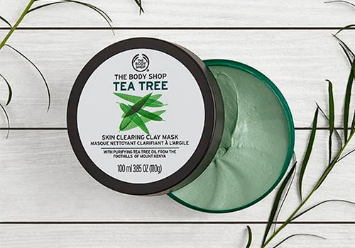 Skin clearing clay mask by The Body Shop