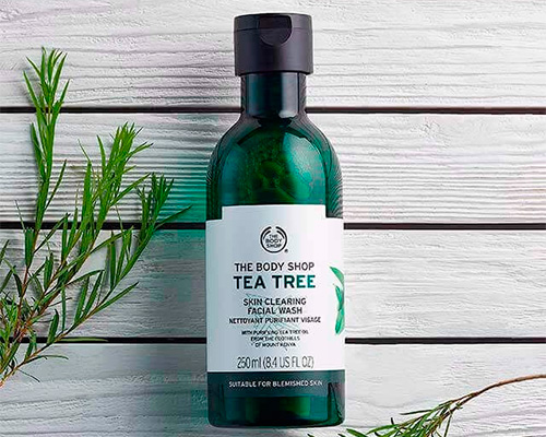 Skin clearing facial wash by The Body Shop