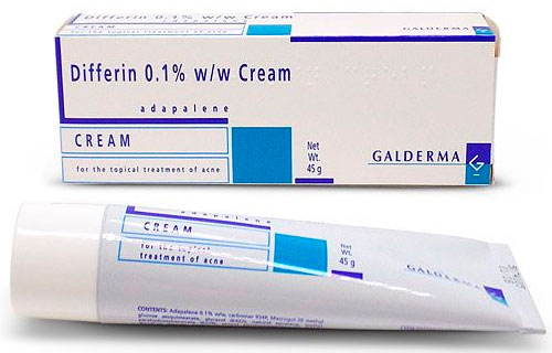 Differin 0.1% w/w Cream