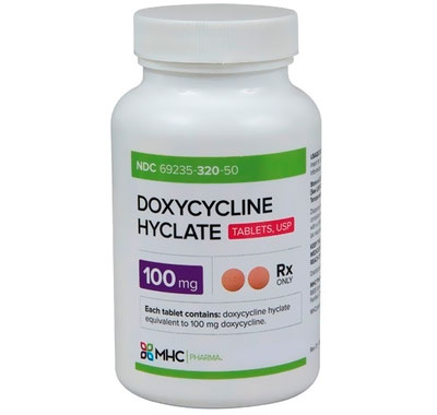 Doxycycline Hyclate 100mg tablets, USP