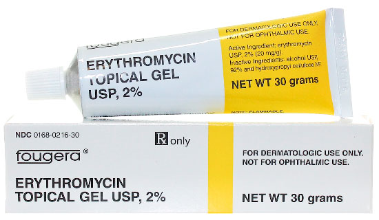 Erythromycin Topical Gel USP 2%