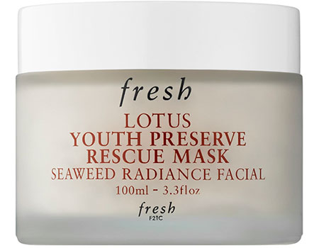 Youth Preserve Rescue Mask by fresh