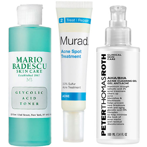 Glycolic acid-based products