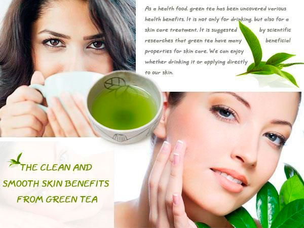 Infographic: Green Tea for Acne