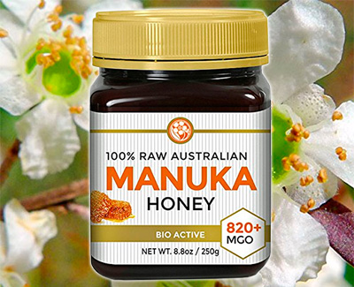 100% Raw Australian Manuka Honey