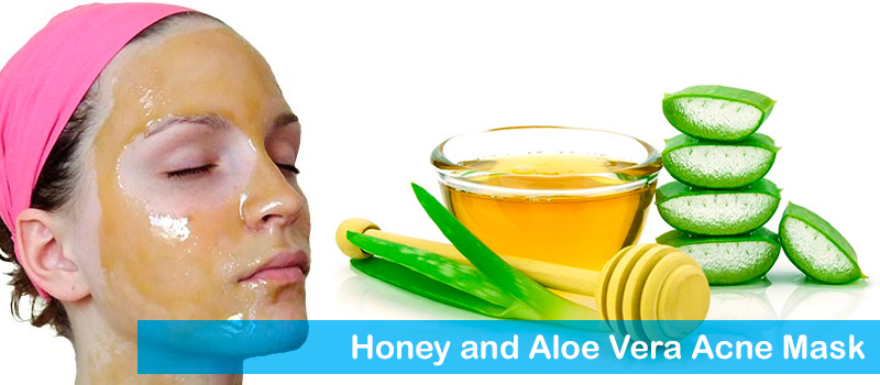 Honey and Aloe Vera Acne Mask