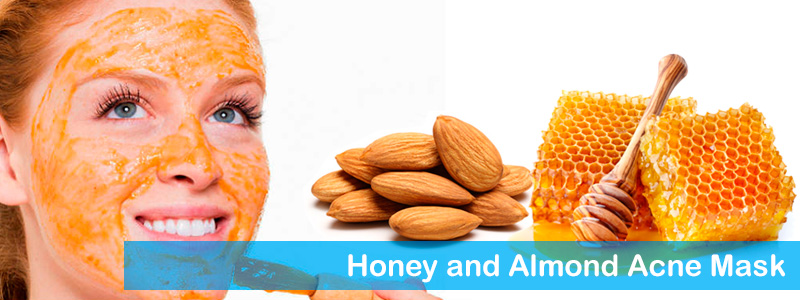 Honey and Almond Acne Mask