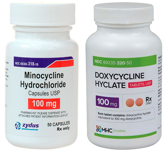 Minocycline VS Doxycycline