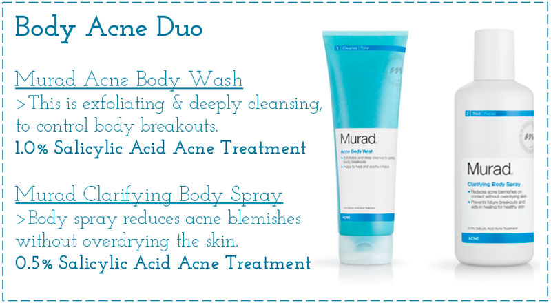 Murad body acne duo