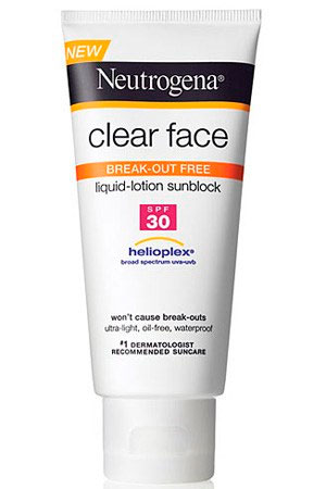 Clear face by Neutrogena