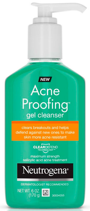 Acne Proofing get cleanser by Neutrogena