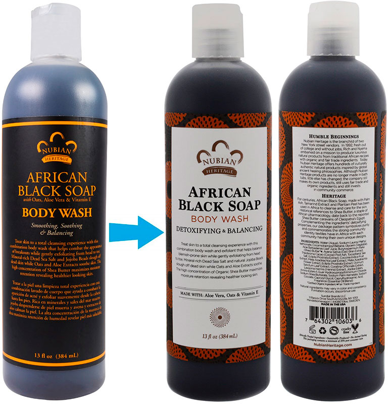 African Black Soap by Nubian