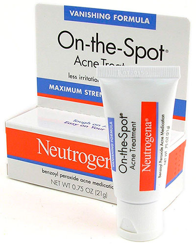 Benzoyl peroxide acne treatment by One-the-Spot
