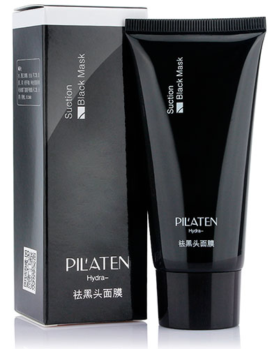 Suction Black Mask by Pil'aten Hydra