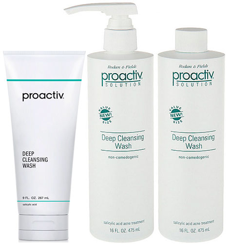 Deep Cleansing Wash Line by Proactiv Solution