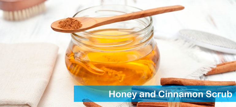 Honey and Cinnamon Scrub