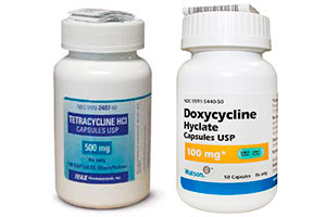 Tetracycline Capsules USP 500mg and Doxycycline Hyclate Capsules USP 100mg