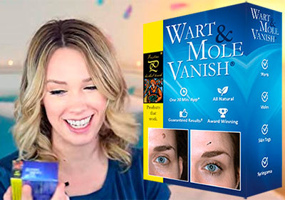 Wart and mole vanish kit
