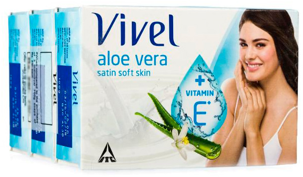 Aloe vera soap by Vivel